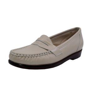 Sas Women's Wink Bone Leather Loafers & Slip-On - 6N