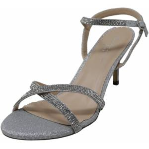 Paradox London Women's Riva Silver Ankle-High Heel - 10M