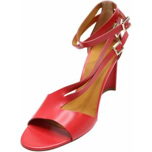 Clergerie Paris Women's Ardent Hibiscus Double Gold Ankle-High Leather Sandal - 9.5M