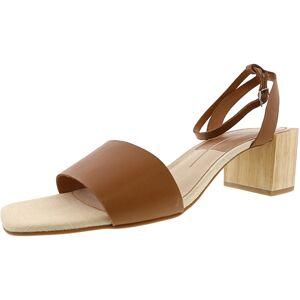 Dolce Vita Women's Zarita Leather Caramel Ankle-High Heel - 8.5M