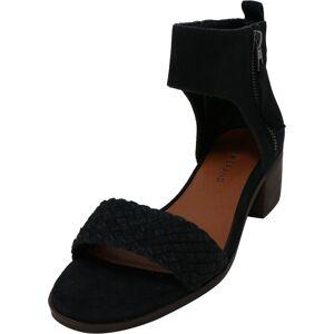 Lucky Brand Women's Nichele Suede Black Ankle-High Heel - 8M