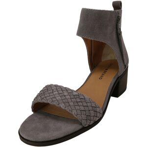 Lucky Brand Women's Nichele Suede Steel Grey Ankle-High Heel - 6M