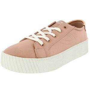 Tretorn Women's Blaire 7 Satin Evening Sand / Ankle-High Fashion Sneaker - 6.5M