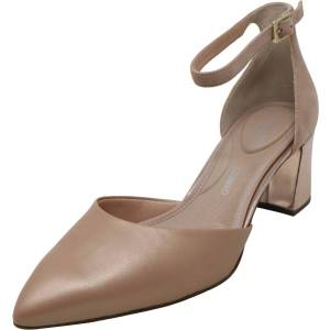 Rockport Women's Total Motion Salima 2 Piece Light Pink Ankle-High Suede Pump - 10M