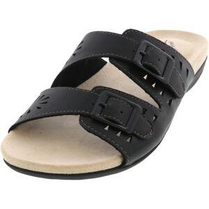 Easy Street Women's Venus Black Sandal - 7.5M