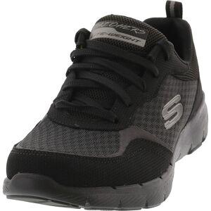 Skechers Women's Flex Appeal 3.0-Go Forward Black Ankle-High Walking - 5M