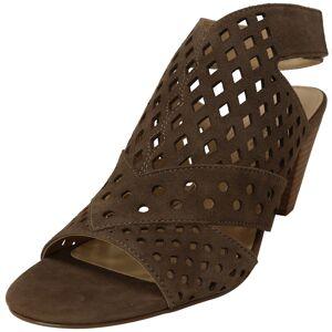 Adrienne Vittadini Women's Phil Taupe Leather Heel - 6.5M