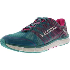 Salming Women's Miles Turquoise Ankle-High Fabric Running Shoe - 8M