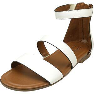 Naturalizer Women's Tish Alabaster Ankle-High Leather Sandal - 7W