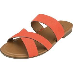 Naturalizer Women's Treasure Chili Pepper Leather Sandal - 7W