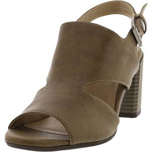Naturalizer Women's Clayre Taupe Ankle-High Heel - 6.5W