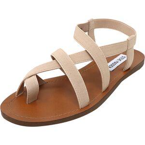 Steve Madden Women's Flexie Blush Ankle-High Fabric Sandal - 8.5M