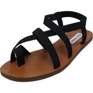 Steve Madden Women's Flexie Black Ankle-High Fabric Sandal - 8M