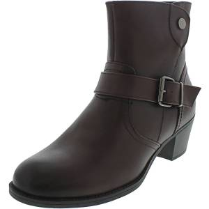 Propet Women's Tory Rich Burgundy High-Top Leather Boot - 7.5M