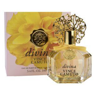 Vince Camuto Divinia Eau de Parfum Perfume Spray 3.4 fl. oz. in Gift Box Grapefruit, Florals and Musk Long-Lasting Scent - 3.4 oz
