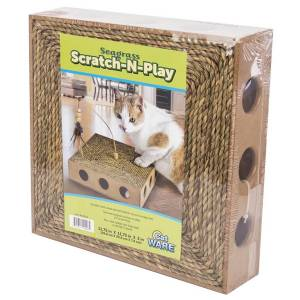 Ware Pet Products Ware Products Seagrass Scratch and Play - Brown