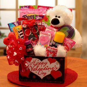 GBDS Huggable Bear Kids Valentine Gift Box