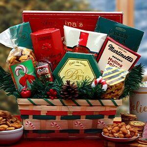 GBDS Taste of Holidays Gift Basket
