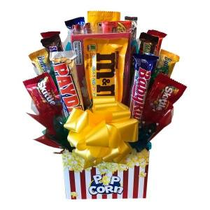 I Ate My Gift Inc Movie Night Candy Bouquet