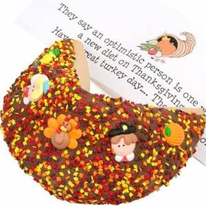 Lady Fortunes Giant Fortune Cookies Thanksgiving Giant Fortune Cookie