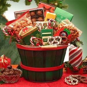 GBDS Holiday Traditions Snack Gift Basket