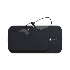 ThinOPTICS Reading Glasses with Phone Case Bundle