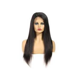 SHEIN 4*4 Lace Front 150% Long Straight Human Hair Wig  - Black - Size: 12 Inch 14 inch 16 inch 18 inch 20 inch 22 inch 24 inch 26 inch