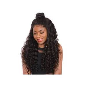 SHEIN 13*4 Lace Front 150% Long Curly Human Hair Wig  - Black - Size: 10 Inch 12 Inch 14 inch 16 inch 18 inch 20 inch 22 inch 24 inch 26 inch 28 inch 30 inch