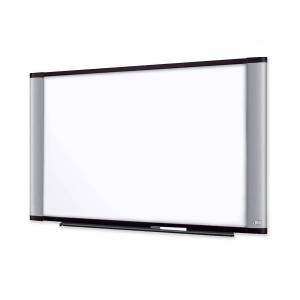 """3M Wide Screen Style Melamine Dry Erase Board - 72"""" (6 ft) Width x 48"""" (4 ft) Height - Aluminum Frame - 1 / Each"""