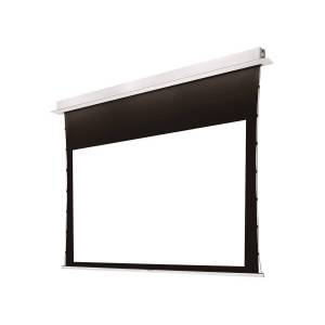 Monoprice 106in Ultra HD 4K Ceiling-Recessed Motorized Projection Screen 16:9 No Logo