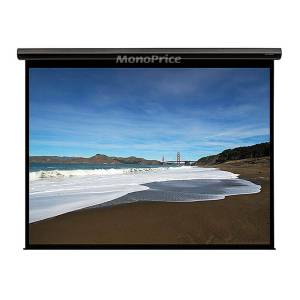 Monoprice 120in HD Motorized Projection Screen 16:9