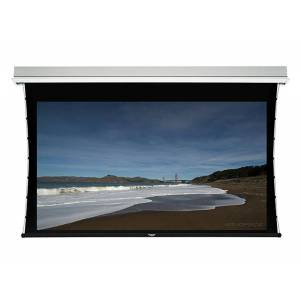Monoprice 150in HD White Fabric Ceiling-Recessed Motorized Projection Screen 16:9