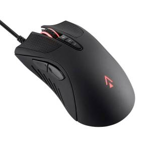 Monoprice Dark Matter by Monoprice Aether Optical Gaming Mouse - 16000DPI, PixArt PMW 3389, Light Strike, RGB, Wired