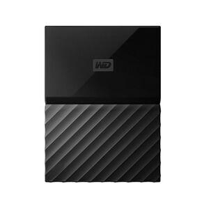 Western Digital WD My Passport for Mac 2 TB Hard Drive - External - Portable - USB 3.0 - Black - WDBLPG0020BBK-WESE