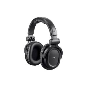 Monoprice Premium Hi-Fi DJ Style Over-the-Ear Pro Bluetooth Headphones with Mic and Qualcomm aptX Audio (8323 with Bluetooth)