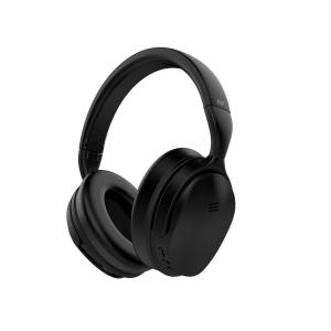 Monoprice BT-300ANC Bluetooth Wireless Over Ear Headphones with Active Noise Cancelling (ANC) and Qualcomm aptX Audio