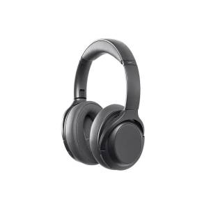 Monoprice BT-600ANC Bluetooth Over Ear Headphones with Active Noise Cancelling (ANC), Qualcomm aptX HD Audio, AAC, Touch Controls, Ambient Mode, 40hr