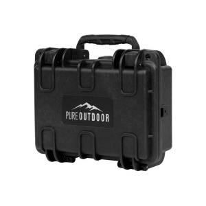 """Monoprice Pure Outdoor by Monoprice Weatherproof Hard Case with Customizable Foam, 8"""" x 7"""" x 4"""""""