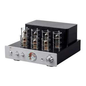 Monoprice Pure Tube Stereo Amplifier with Bluetooth, Line and Phono Inputs, and Qualcomm aptX Audio