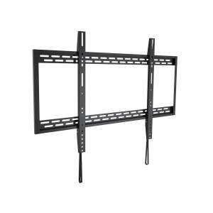 Monoprice EZ Series Fixed TV Wall Mount Bracket for TVs 60in to 100in, Max Weight 220 lbs, VESA Patterns Up to 900x600, Works with Concrete and Brick,