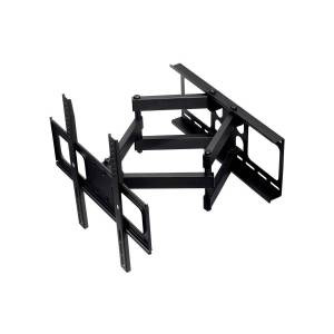 Monoprice Commercial Series Full-Motion Articulating TV Wall Mount Bracket For TVs 32in to 55in, Max Weight 77lbs, VESA Patterns Up to 400x400, Rotati