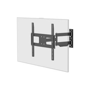 Monoprice EZ Series Outdoor Full Motion TV Wall Mount Bracket for TVs 32in to 100in, Max Weight 110 lbs., VESA Patterns 75x75 to 400x400, Waterproof,