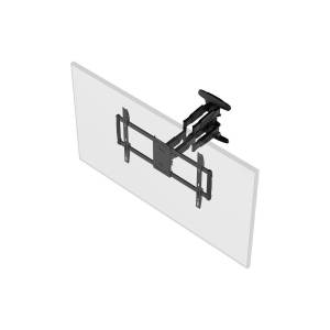 Monoprice SlimSelect Series Low Profile Full-Motion Articulating TV Wall Mount Bracket for TVs 37in to 80in, Max Weight 99 lbs., Extension Range from