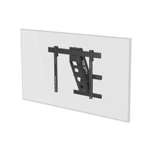 Monoprice Motorized Above Fireplace Mantel Pull-down, Full-Motion, Articulating TV Wall Mount Bracket - For LED TVs between 50in and 100in, Max Weight