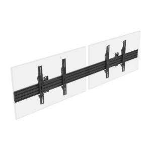 Monoprice Commercial Series 2x1 Display Adjustable Tilt Menu Board TV Wall Mount for LED Screens between 32in to 65in, Max Weight 66 lbs, VESA Pattern