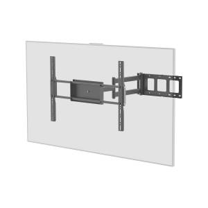 Monoprice EZ Series Corner Friendly Full-Motion Articulating TV Wall Mount Bracket For TVs 37in to 70in, Max Weight 110 lbs, Extension Range of 5.5in