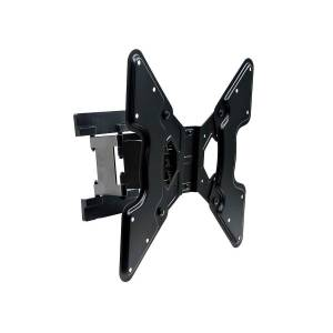 Monoprice SlimSelect Series Full-Motion Articulating TV Wall Mount Bracket For TVs 32in to 55in, Max Weight 66 lbs, Extension Range of 1.5in ~ 10.7in,