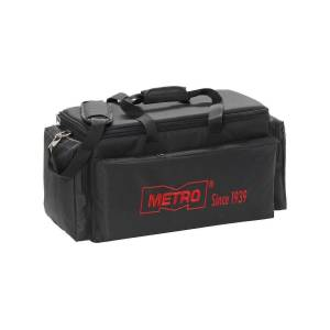 """METROPOLITAN VACUUM CLEANER CO Metro Carry All MVC-420G Carrying Case for Vacuum Cleaner - Black - Shoulder Strap - 12"""" Height x 20.5"""" Width x 10"""" Depth"""