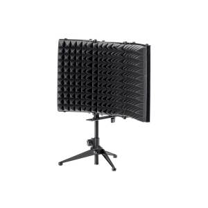 Monoprice Stage Right by Monoprice Desktop Microphone Isolation Shield