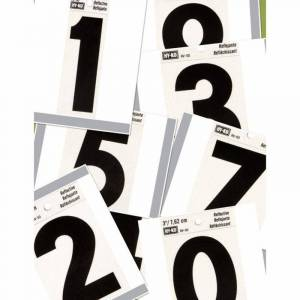 Hy-Ko Products 3-Inch Reflective House Numbers